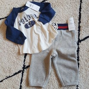 Ralph Lauren Polo Baby Outfit Set 9 Months